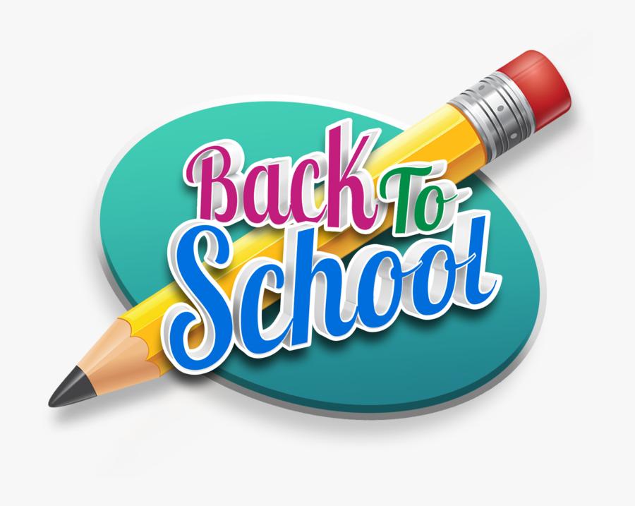 Back To School Pencil 800 Clr - Back To School Pencil, Transparent Clipart