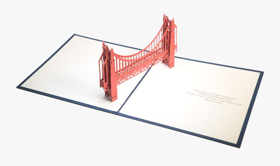 Transparent Golden Gate Bridge Clipart Black And White - Suspension Bridge, Transparent Clipart