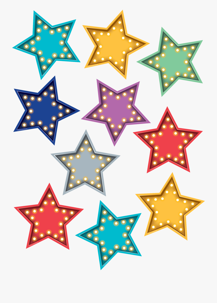 Free Printable Colored Star Template , Free Transparent ...