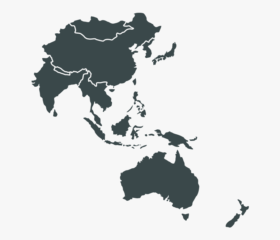 East United Asia-pacific Asia States Middle America - South East Asia Pacific, Transparent Clipart