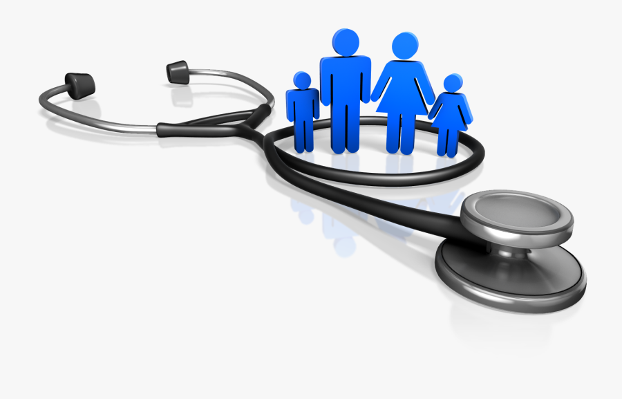 Stethoscope With Family Png, Transparent Clipart