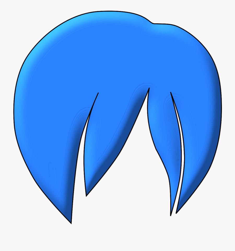 Anime Hair 2 - Anime Boy Hair Clipart, Transparent Clipart