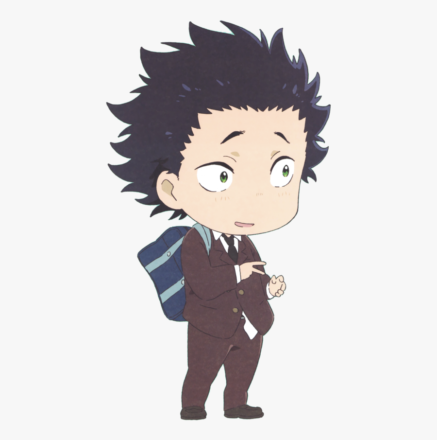 Anime Tumblr Png - Koe No Katachi Chibi, Transparent Clipart