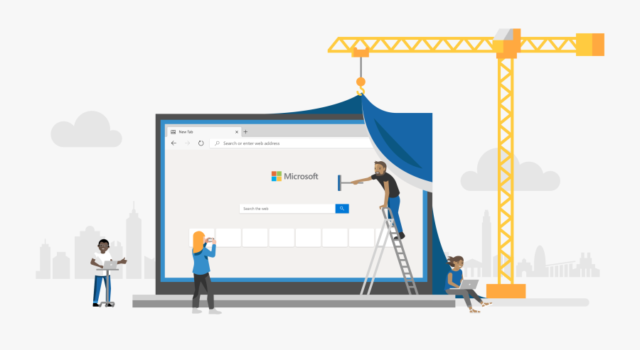 Microsoft Edge, Transparent Clipart