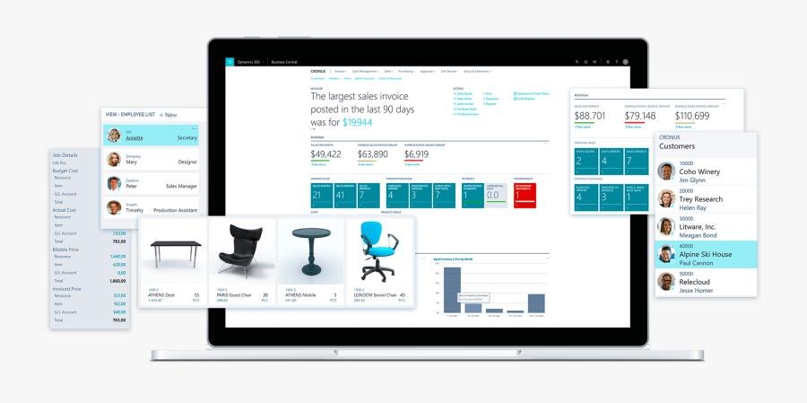 Microsoft Business Central Blog, Transparent Clipart