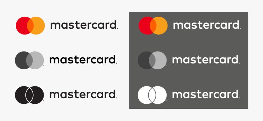 Horizontal Mastercard Brand Marks - Circle, Transparent Clipart
