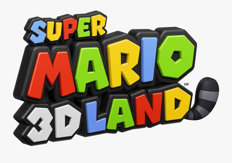Super Mario 3d Land Title, Transparent Clipart