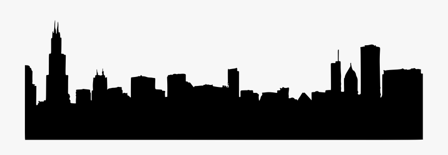 Chicago Skyline Drawing, Silhouette transparent background PNG clipart |  HiClipart