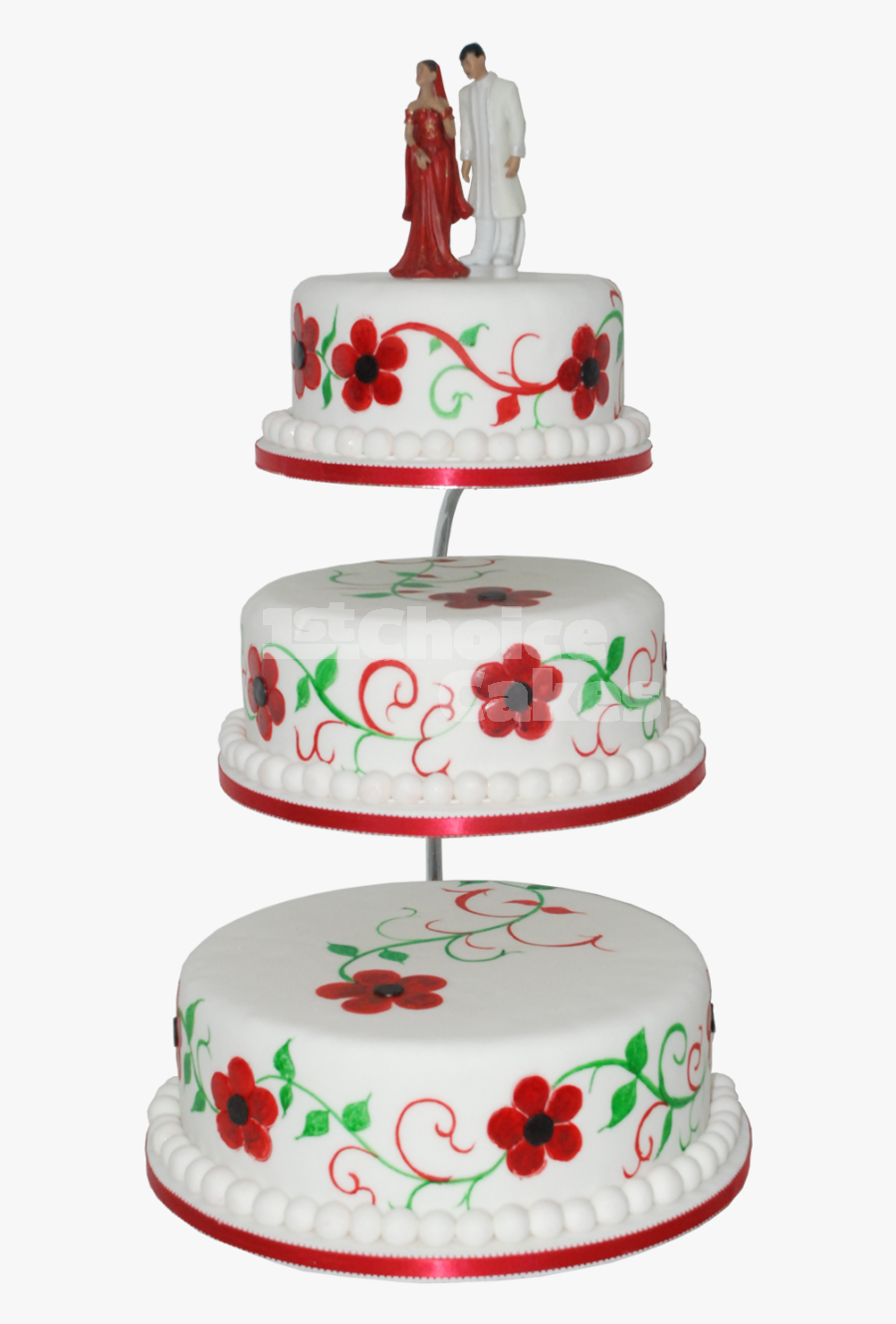 Wedding Cake Png Red Wedding Cake Png Free Transparent Clipart Clipartkey