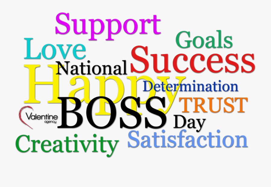 Boss Day Wishes - Graphic Design, Transparent Clipart