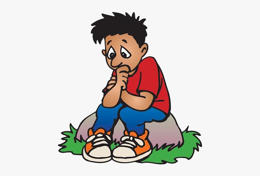 Sad Boy Png - Sad Boy Clip Art Png, Transparent Clipart