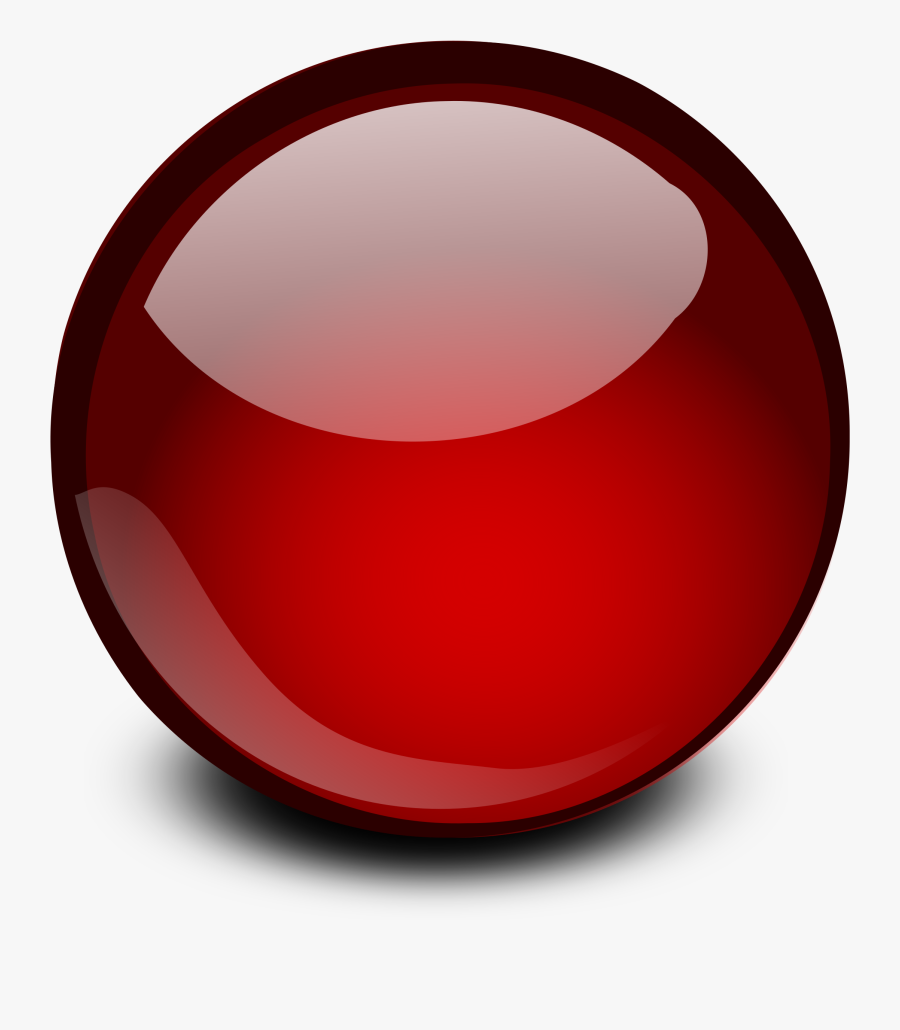 Caffeinated Red Ball Of Heart Palpitations - Glossy Round Button Png, Transparent Clipart