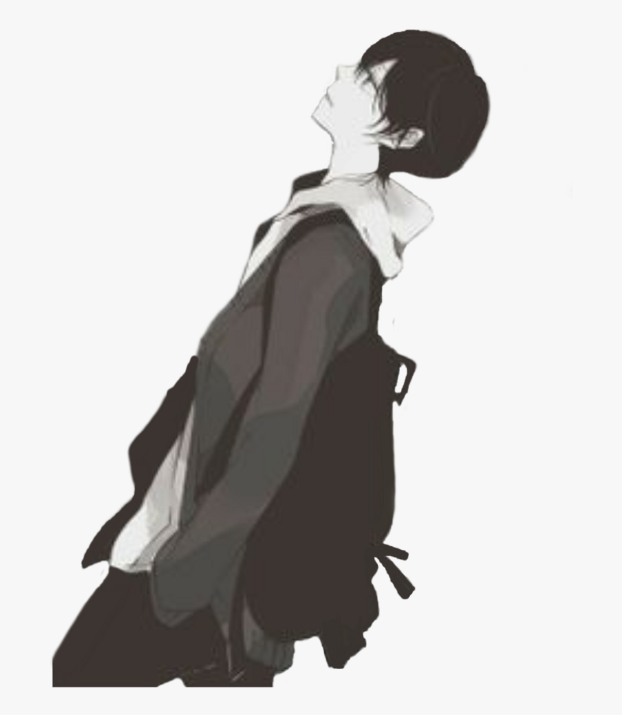 Sad Boy Png Photo - Sad Anime Boy Png, Transparent Clipart