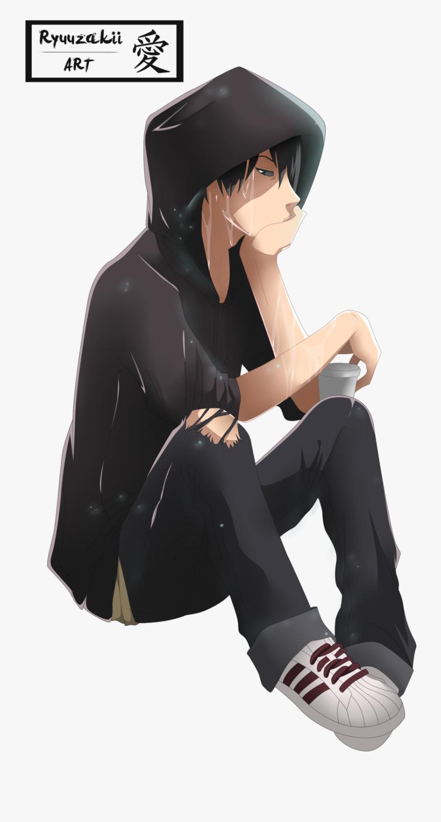 Sad Boy Png File - Sad Boy Cartoon Png, Transparent Clipart