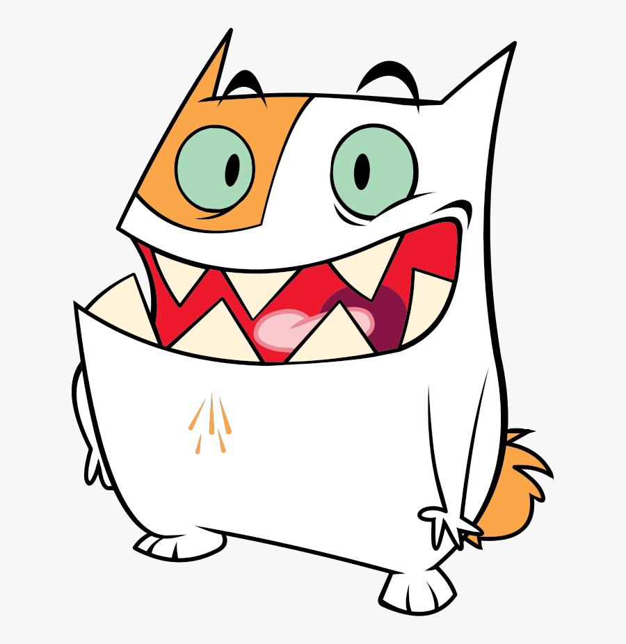 Transparent Scratching Head Clipart - Gordon Catscratch, Transparent Clipart