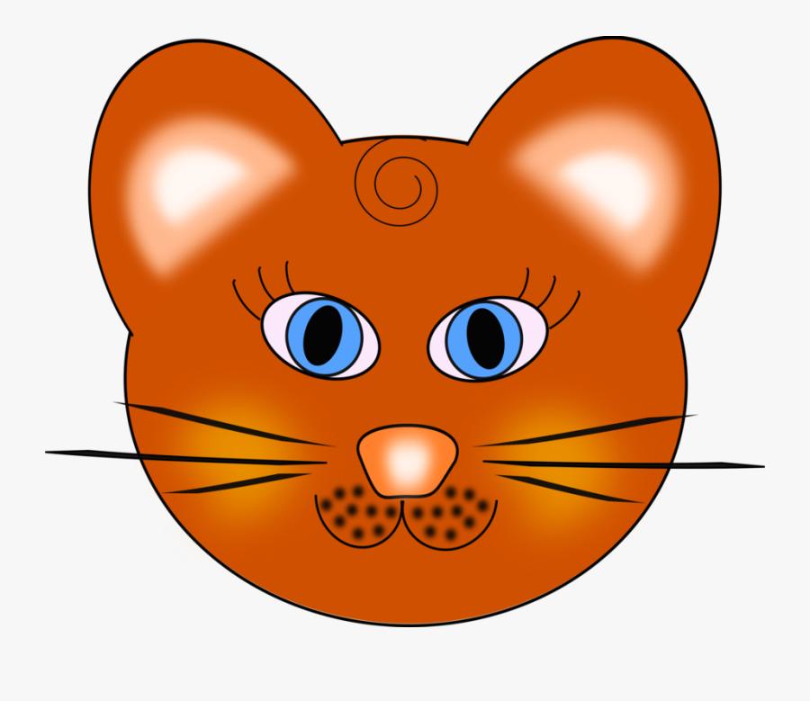Wildcat, Cat, Tiger, Animal, Happy, Head, Smile, Zoo - Cat Face Clio Art, Transparent Clipart