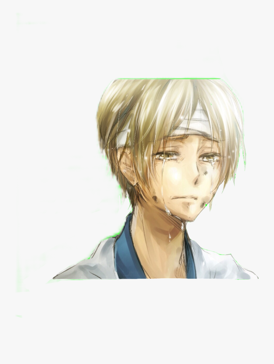 Clip Art Crying Anime Boy - Natsume Yuujinchou Natsume Crying, Transparent Clipart