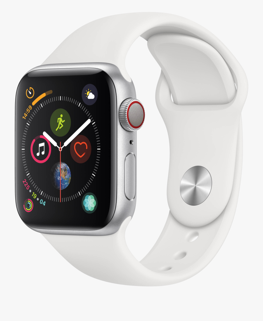 Smart Sports Watch Png Image Free Download Searchpng - Apple Watch Series 4, Transparent Clipart