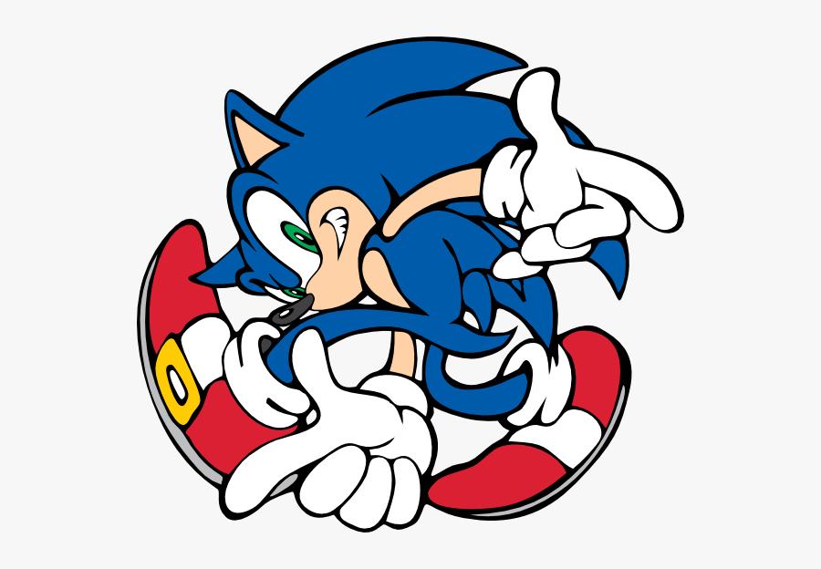 Transparent Sonic Clipart - Sonic The Hedgehog Adventure, Transparent Clipart