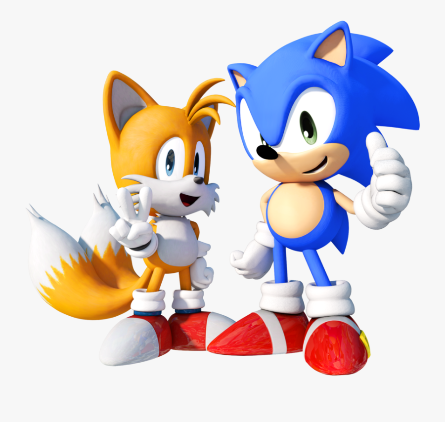Sonic And Tails By Finland1 D7l1ct3 Sonic The Hedgehog Tails Png Free Transparent Clipart Clipartkey