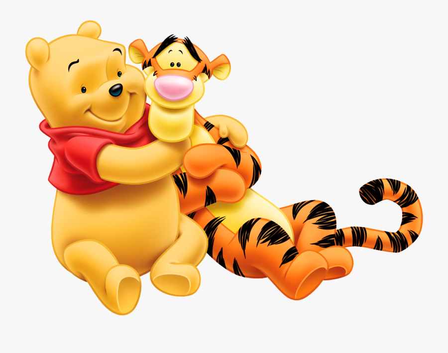 Share This Article - Winnie The Pooh Y Tiger, Transparent Clipart