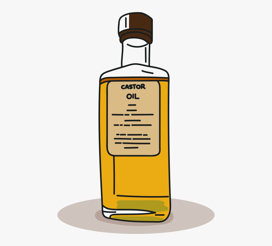 Svg Transparent Stock Oil Vector Castor - Glass Bottle, Transparent Clipart
