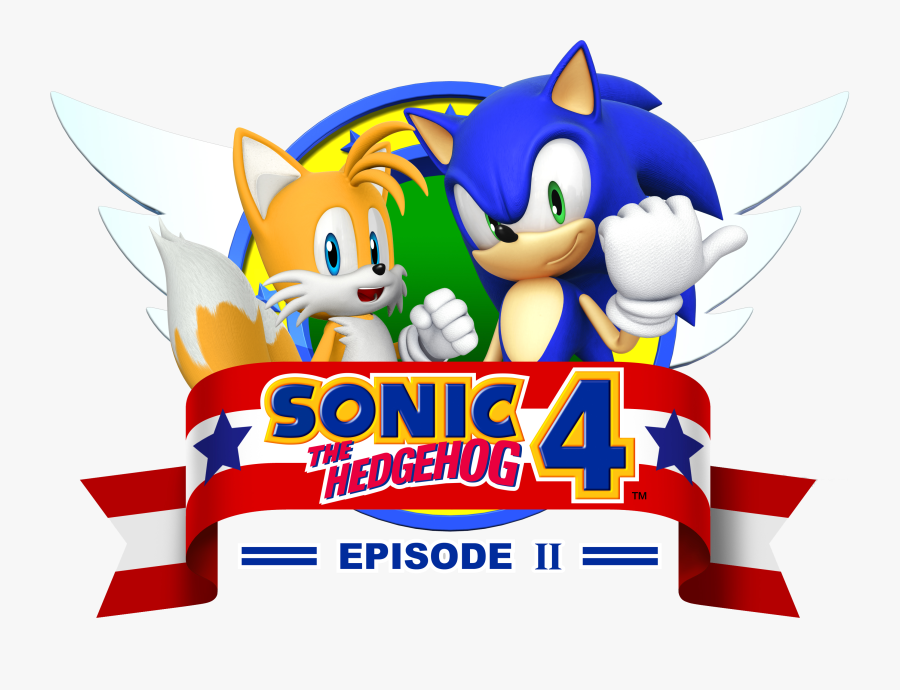Transparent Sonic Clipart - Sonic The Hedgehog 4 Episode Ii, Transparent Clipart