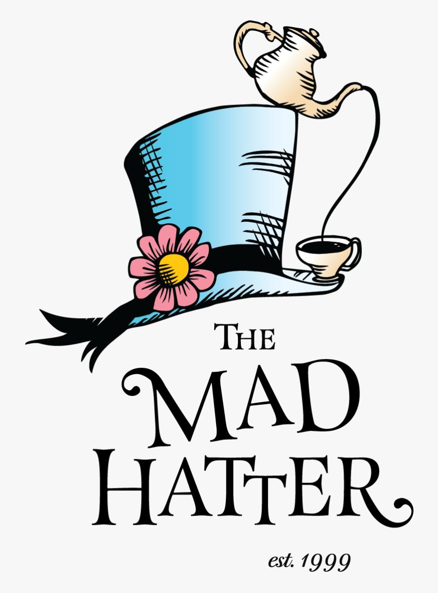 Clip Art Mad Hatters Tea Party, Transparent Clipart