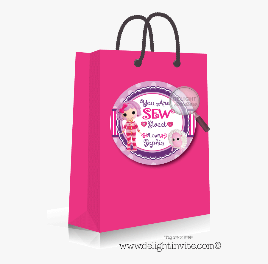 Transparent Lalaloopsy Clipart - My Little Pony Birthday Favors Bags, Transparent Clipart