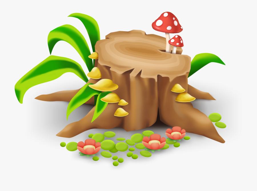Logs Clipart Stump - Hay Day Png, Transparent Clipart