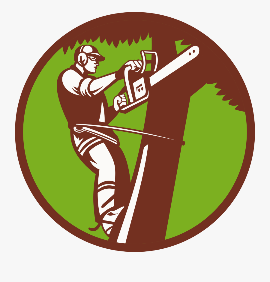 Tree Stump Arborist Logo Stump Grinder - Tree Service Clip Art, Transparent Clipart