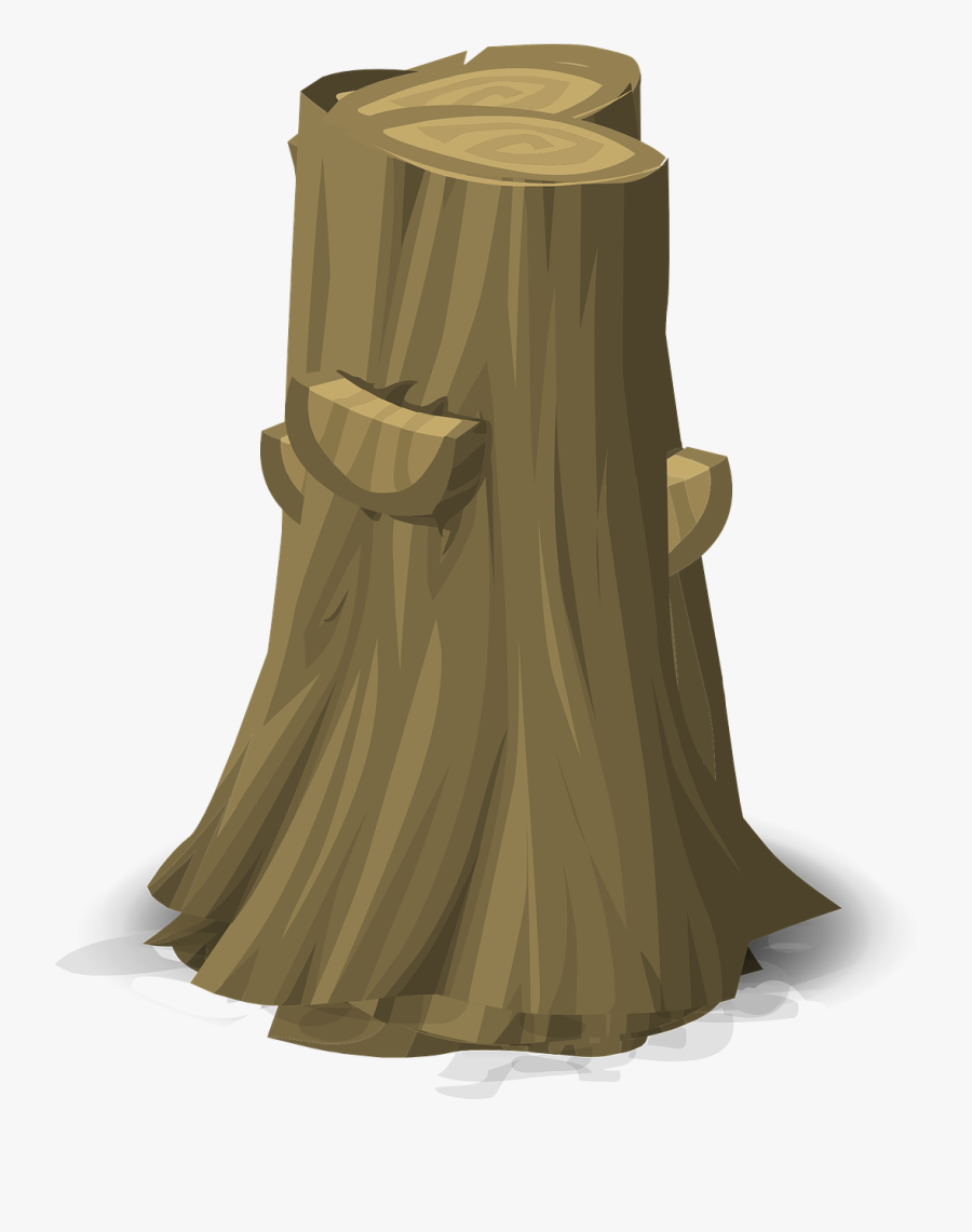Transparent Tree Stump Clipart Black And White - درخت کاٹنا جرم ہے, Transparent Clipart