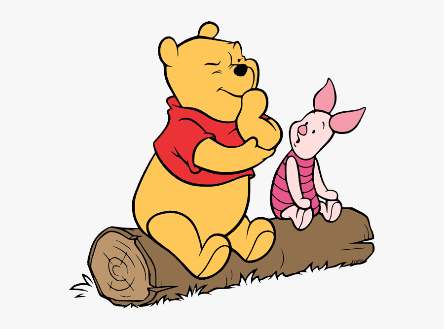 Winnie The Pooh And Piglet Sitting Free Transparent