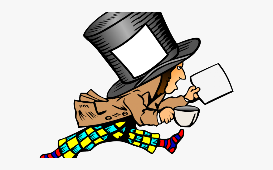 Mad Money Cliparts Mad Hatter Hat Label Free Transparent Clipart Clipartkey