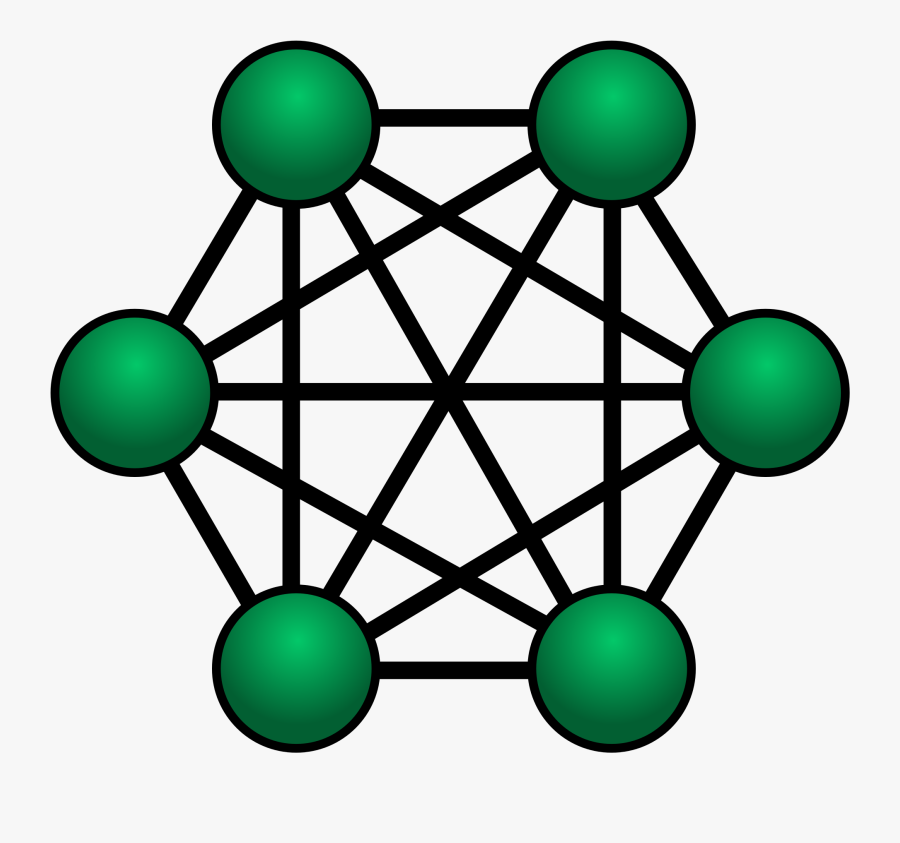 Please Join Us Ship - Fully Connected In Networking, Transparent Clipart