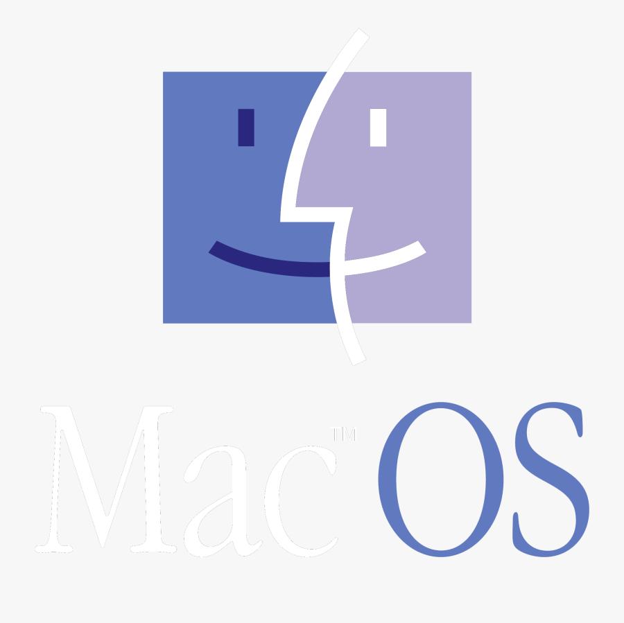 Transparent Free Clipart For Macintosh - Logo De Mac Os 1987, Transparent Clipart