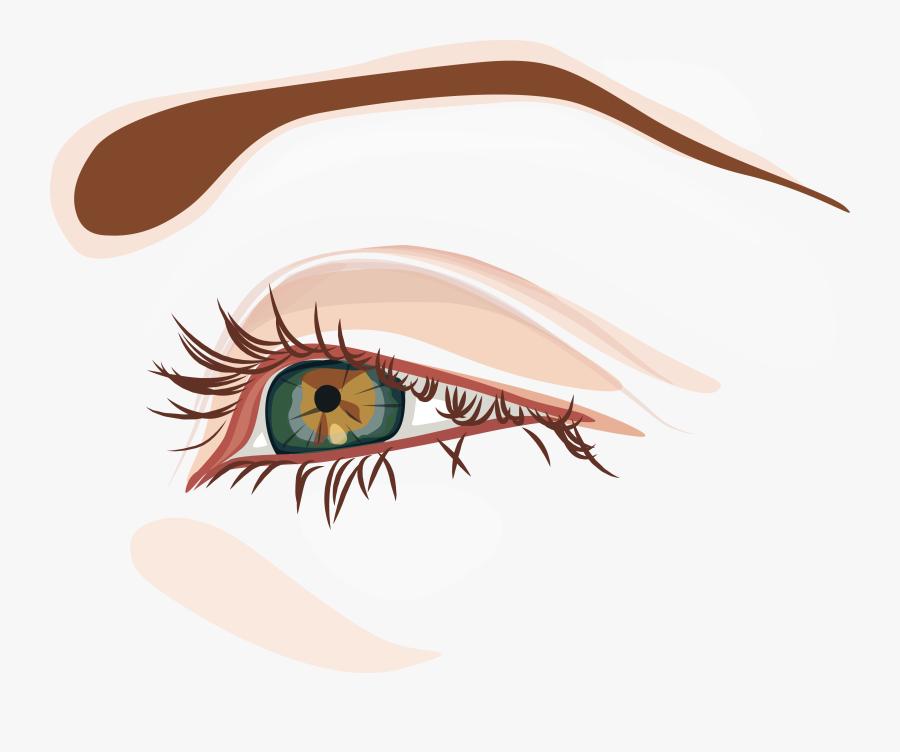 Eye Clip Art Cartoon - Eye การ์ตูน, Transparent Clipart