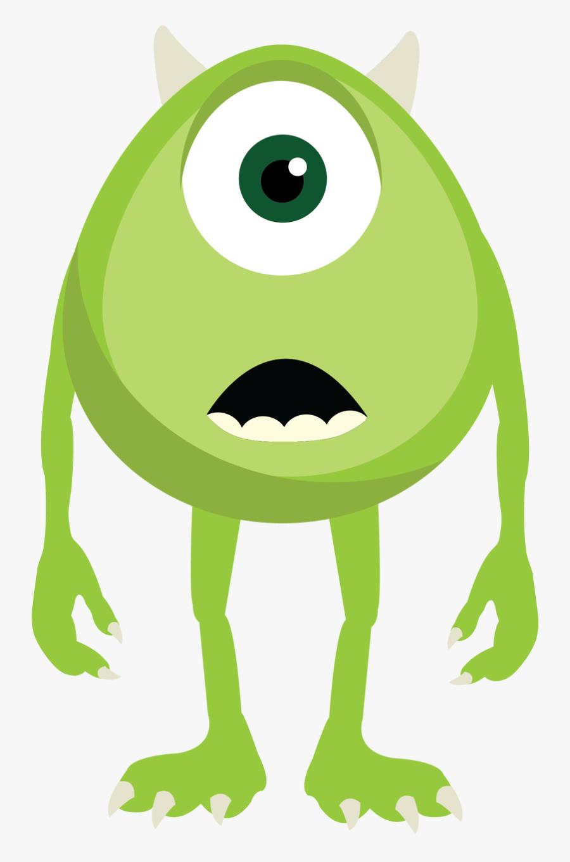 Monster Inc Green Monster, Transparent Clipart
