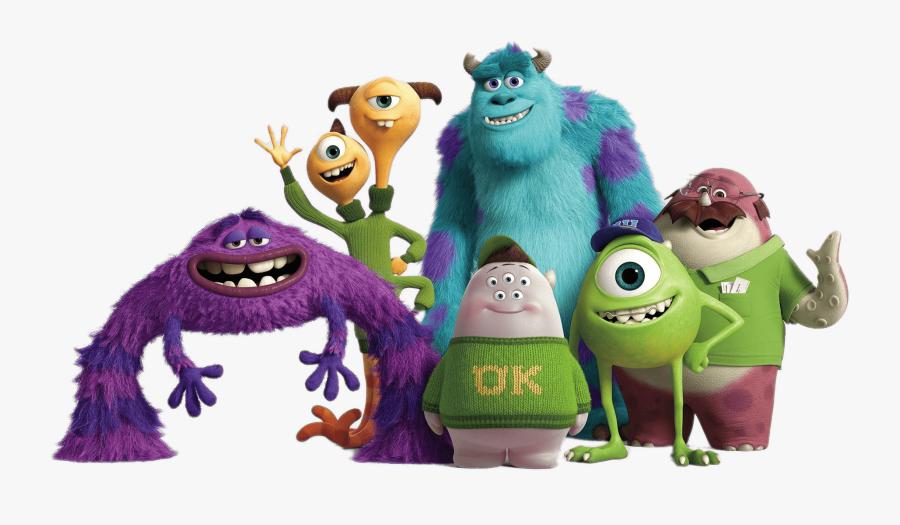 Monsters University Group Monsters U Oozma Kappa Free Transparent Clipart Clipartkey