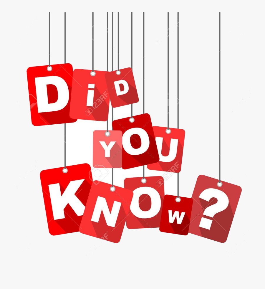 Did You Know Clip Art Images In Collection Page Transparent - Did You Know Background, Transparent Clipart