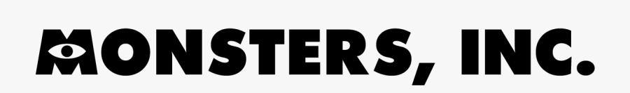 Clip Art Download Famous Fonts Monster - Monster Inc Title Font, Transparent Clipart