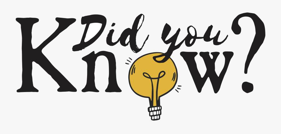 Did You Know Clipart Dibujos Para Colorear Transparent - Illustration, Transparent Clipart