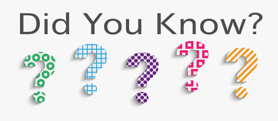 Did You Know Png Transparent, Transparent Clipart