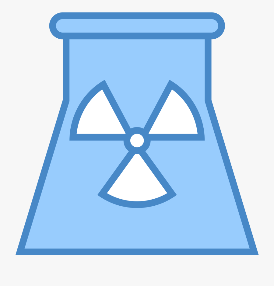 Nuclear Power Plant Icon Free Png And Svg Download - Power Station, Transparent Clipart