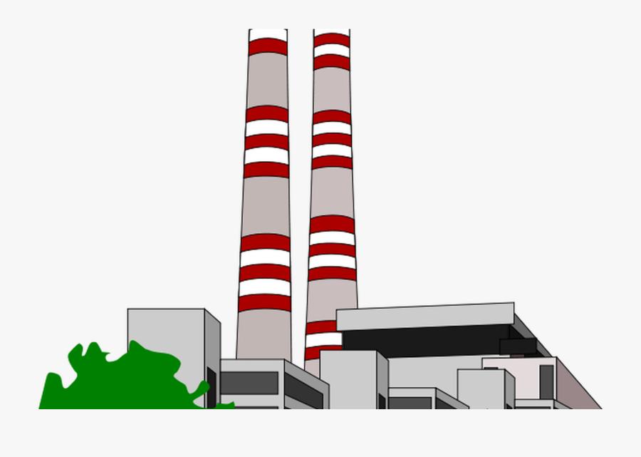 Power Plant Clip Art Clipartsco - Power Station Clipart, Transparent Clipart