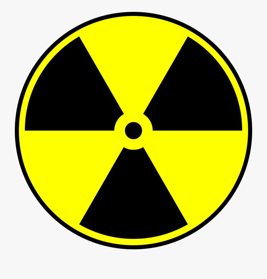 Nuclear Hazard Symbol, Transparent Clipart