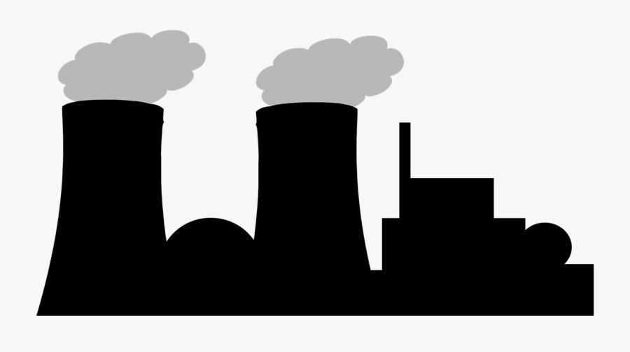 Nuclear Power Plant Cartoon Png, Transparent Clipart