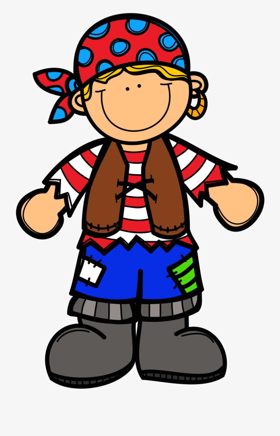 Vintage Clipart Of Did You Know There Is - Ar Bossy R Pirate, Transparent Clipart