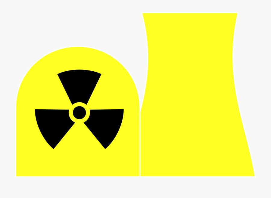 Nuclear Power Plants 2d Clipart , Png Download - Nuclear Power Plant 2d, Transparent Clipart