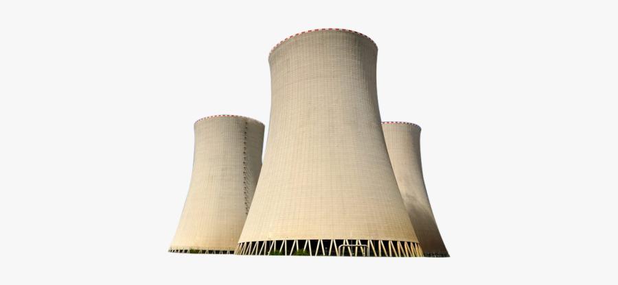 Nuclear Power Plant, Transparent Clipart